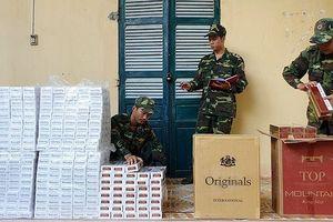 An Giang: Thu giữ 3.500 gói thuốc nhập lậu từ Campuchia