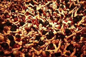 Hình ảnh lễ hội 'khỏa thân' Nhật đông cả vạn người