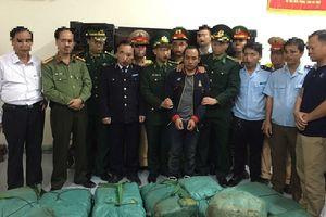 Bắt giữ vụ vận chuyển 294 kg ma túy đá