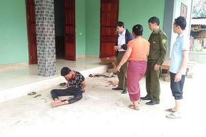 Nghi phạm siết cổ giết vợ ở Nghệ An khai có sử dụng ma túy đá