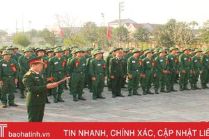 Can Lộc gặp mặt 135 thanh niên lên đường nhập ngũ