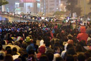 Hà Nội: Cả trăm cảnh sát đảm bảo trật tự lễ cầu an chùa Phúc Khánh