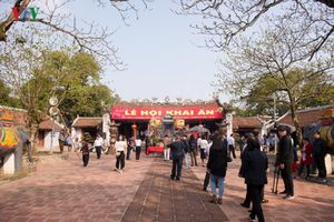 Lễ hội khai ấn Đền Trần - Một nét đẹp văn hóa truyền thống