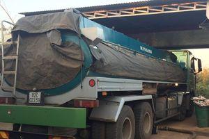 Tạm giữ xe bồn chở 18.000 lít xăng không rõ nguồn gốc ở Đắk Lắk