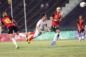 Đại thắng U22 Đông Timor 4-0, U22 Việt Nam thẳng tiến vào bán kết1