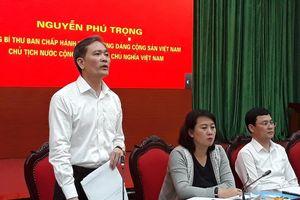 Hà Nội: Thông tin lãnh đạo thành phố ngụy tạo hồ sơ là không chính xác