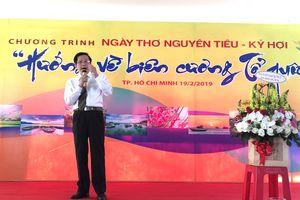 Sôi nổi ngày thơ Việt Nam 'Hướng về biên cương Tổ quốc' tại TP.HCM