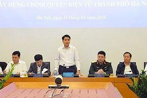 Hà Nội: 500 nghìn hồ sơ được xử lý qua mạng