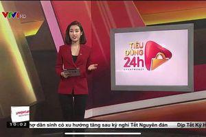 Hoa hậu Mỹ Linh khoe ảnh làm MC Bản tin Tiêu dùng 24h
