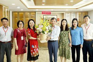 Công đoàn Dầu khí Việt Nam làm việc với các Công đoàn trực thuộc phía Nam