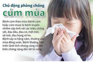 Các biện pháp phòng chống cúm mùa
