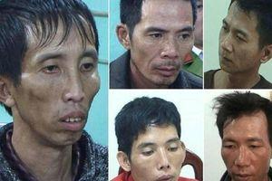 Chân dung 5 nghi phạm hiếp dâm, sát hại dã man nữ sinh giao gà dịp Tết