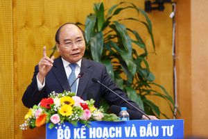 Thủ tướng: Bộ KH&ĐT là cơ quan tham mưu có vị trí đặc biệt quan trọng