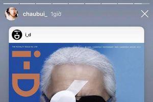 Sao Việt và thế giới bàng hoàng trước sự ra đi của 'trái tim thời trang' Karl Lagerfeld