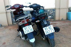 Bắt hai tên trộm xe máy liên huyện