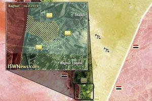 Bị vây hãm trên lãnh thổ Syria, quân IS lẩn trốn sang bên kia biên giới Iraq