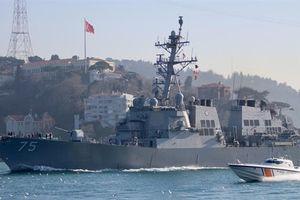 Nga biết rõ từng cử chỉ của tàu Mỹ tại Biển Đen