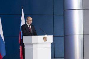 Ông Putin đặt mục tiêu nâng cao đời sống người dân