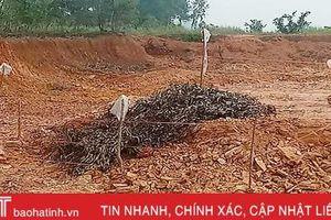 Phát hiện quả bom nặng khoảng 250kg ở Can Lộc