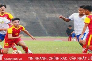 U19 Hồng Lĩnh Hà Tĩnh thắng U19 Huế với tỷ số 2 - 1