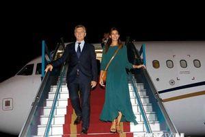 Hình ảnh Tổng thống Argentina đến Hà Nội, bắt đầu chuyến thăm Việt Nam