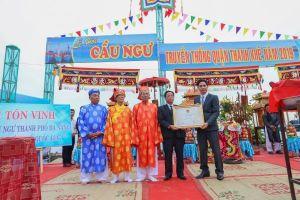 Lễ hội Cầu ngư Đà Nẵng được công nhận di sản văn hóa phi vật thể cấp quốc gia