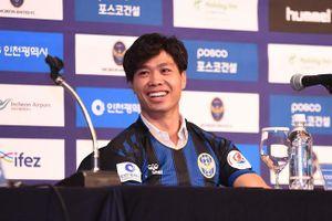 Công phượng ghi bàn ra mắt Incheon United, muốn trở thành Son Heung Min