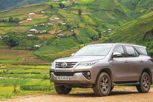 Loạt xe nhập khẩu giúp doanh số Toyota Việt Nam tăng mạnh