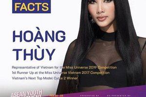 Hoàng Thùy chính thức đại diện Việt Nam dự thi Miss Universe 2019