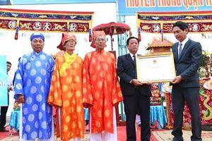 Lễ hội Cầu ngư tại TP.Đà Nẵng trở thành di sản văn hóa phi vật thể