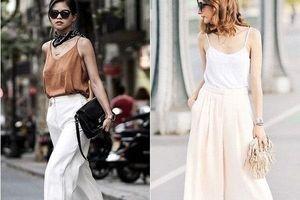 8 lời khuyên giúp bạn mặc quần Culottes đẹp và thoải mái nhất