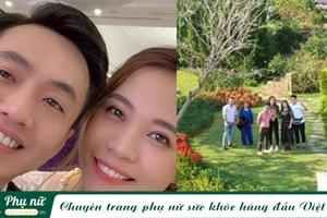 'Vén màn' cuộc sống của Cường Đô la và Đàm Thu Trang sau một tháng làm đám hỏi
