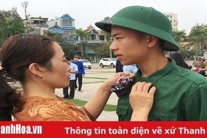 Những hình ảnh ấn tượng trong ngày hội tòng quân tại Thanh Hóa