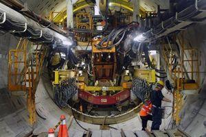 Robot đào hầm đường sắt Nhổn - Ga Hà Nội sẽ về nước vào tháng 7