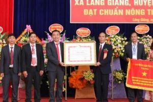 Lào Cai công bố xã Làng Giàng đạt chuẩn nông thôn mới