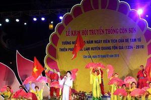 Khai hội mùa xuân Côn Sơn – Kiếp Bạc 2019