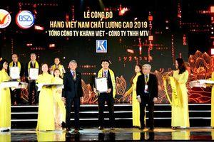 Khatoco nhận danh hiệu Hàng Việt Nam chất lượng cao năm 2019