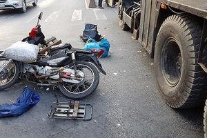 Nhờ vất xe máy tháo chạy, người đàn ông thoát chết thần kỳ