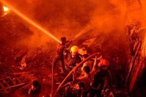 Hiện trường vụ cháy lớn khiến ít nhất 70 người thiệt mạng ở Bangladesh