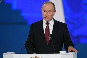Điểm nhấn trong thông điệp liên bang của TT Putin