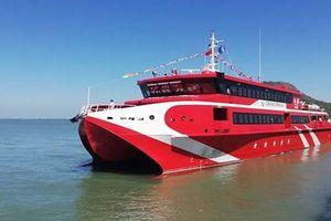 Tàu cao tốc Vũng Tàu - Côn Đảo chở 500 khách bất ngờ hỏng giữa biển
