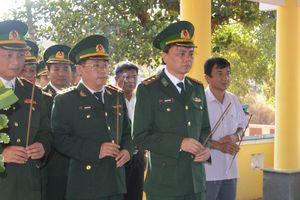 Khánh thành Bia tưởng niệm các liệt sỹ hy sinh trong chiến tranh bảo vệ biên giới Tây Nam