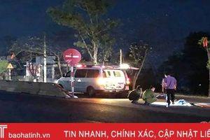 Xác định được danh tính, thân nhân người đàn ông tử vong trên QL 1A qua Hà Tĩnh