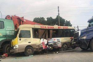 Tai nạn liên hoàn ít nhất 5 người bị thương nặng