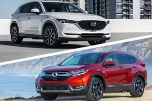Top 5 mẫu CUV bán chạy nhất tháng 1/2019: Honda CR-V 'vượt' Mazda CX-5
