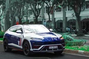 Lamborghini Urus của Minh 'nhựa' tiếp tục đổi màu sau Tết Nguyên đán