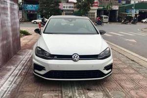 Xe nhỏ hiệu suất cao Volkswagen Golf R đời mới bất ngờ xuất hiện ở Hà Nội