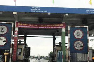 Chính thức tạm dừng thu phí trạm BOT Cầu Rác Hà Tĩnh