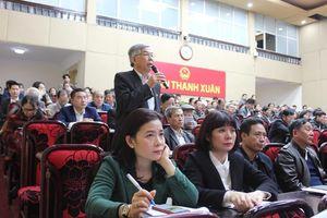 Quận Thanh Xuân tháo gỡ vướng mắc, cấp sổ đỏ cho người dân