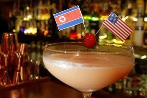 Nhà hàng Hà Nội sáng tạo đồ uống ăn theo thượng đỉnh Mỹ Triều